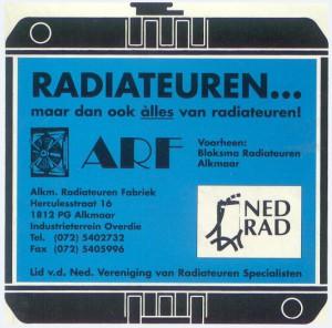 ARF radiateuren