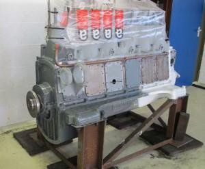 NS 162 Gardner motorrevisie