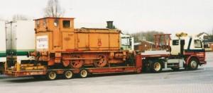 NS 162 op transport naar Nederland