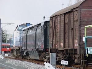 NS 162 Stalen D en Gs op transport vertrek Wgm
