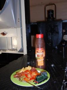 NS 162 maaltijd
