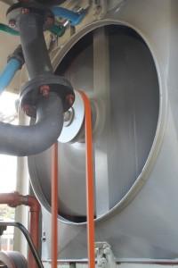 NS 162 ventilator draait