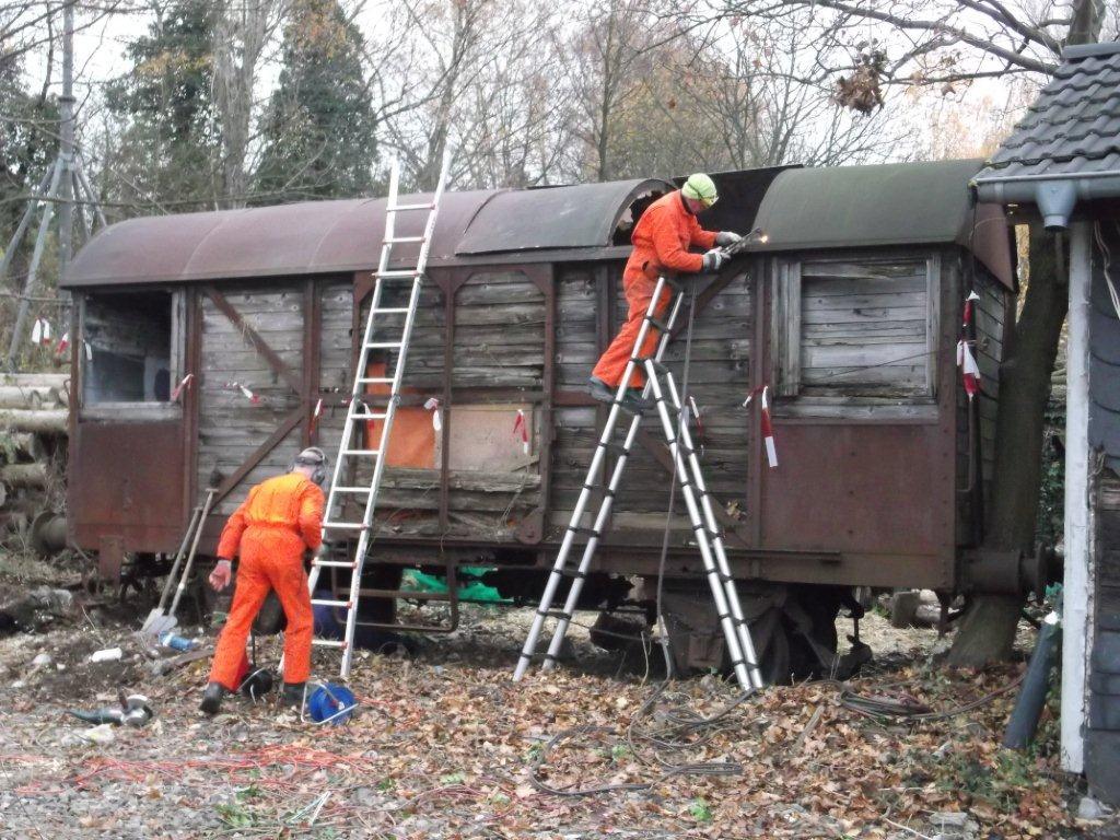 USATC goederenwagen vondst in Duitsland