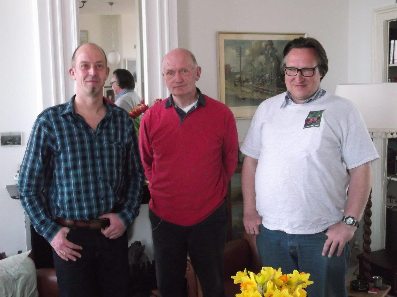 het nieuwe bestuur per 1-4-2013 Altena Doorewaard vdHoven