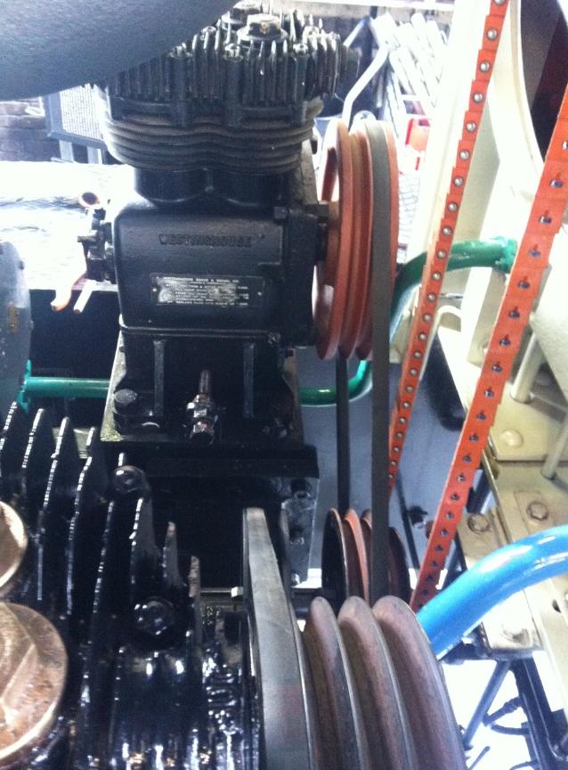 2e compressor aangesloten