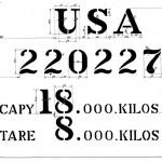 USATC wagennummer en gewichten