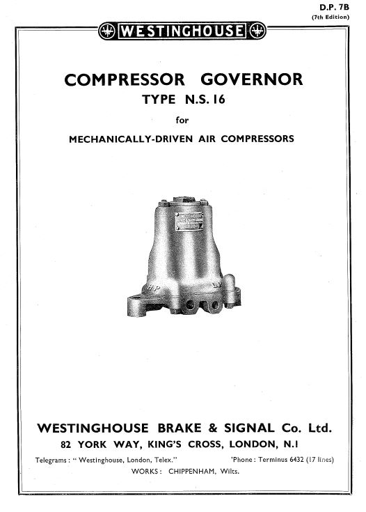 Westinghouse governor