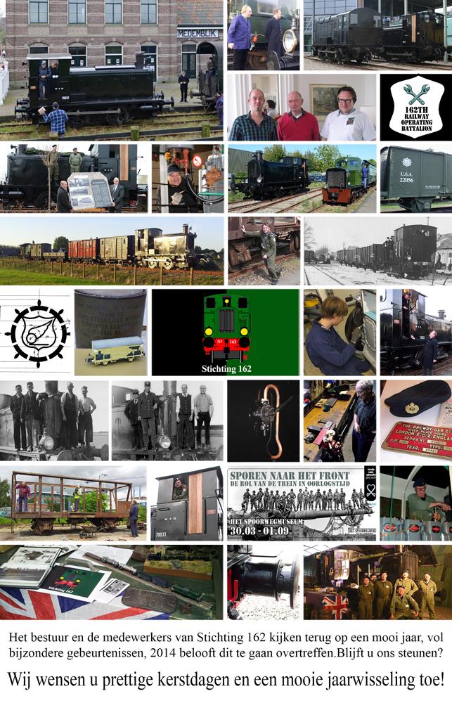 Stichting 162 nieuwjaarskaart 2013