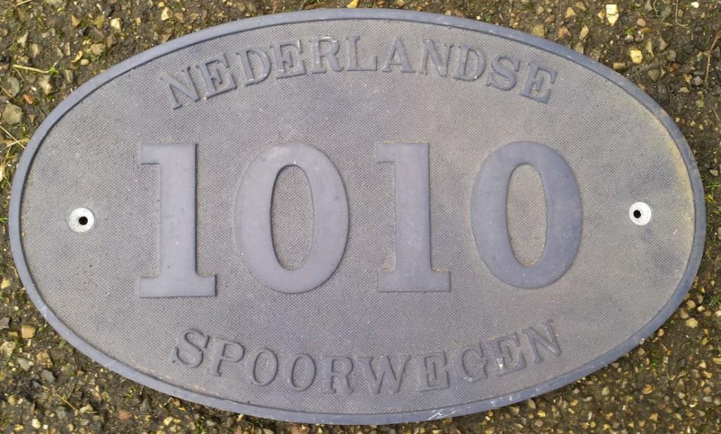1010 nummerplaat