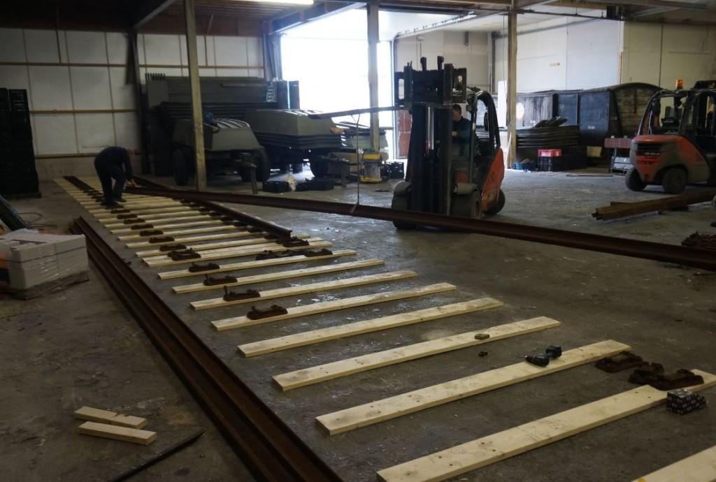 rails leggen