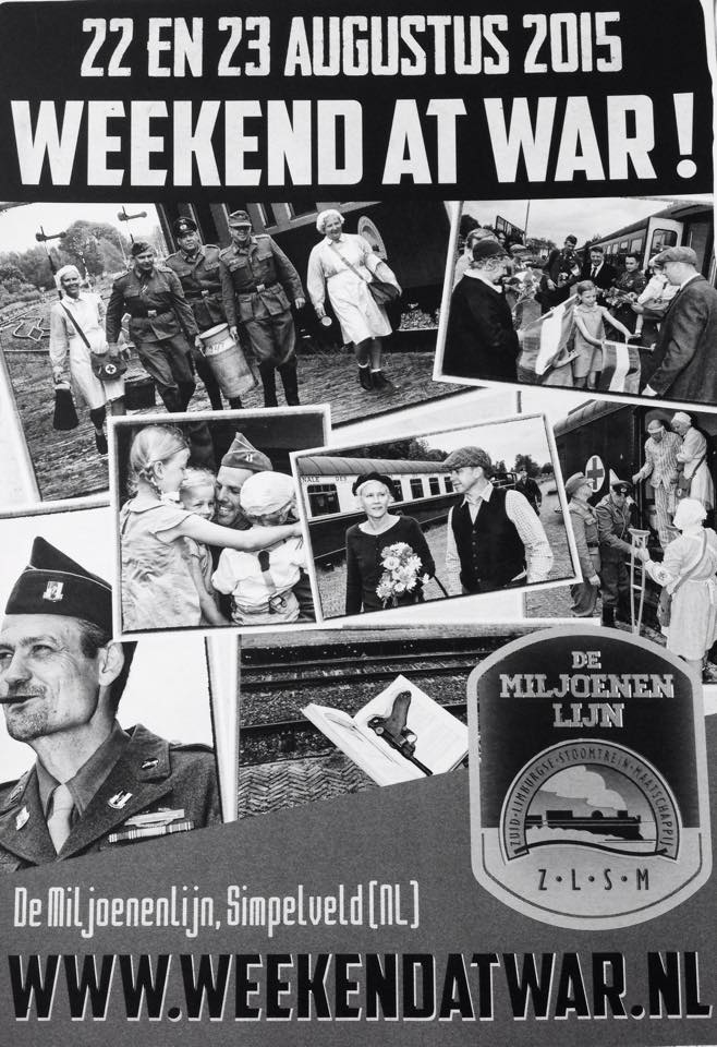 Weekend at War poster 2015