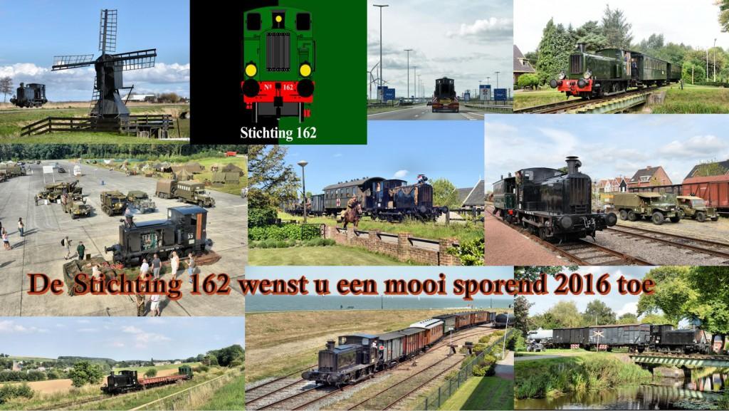 Stichting 162 nieuwjaarskaart 2016