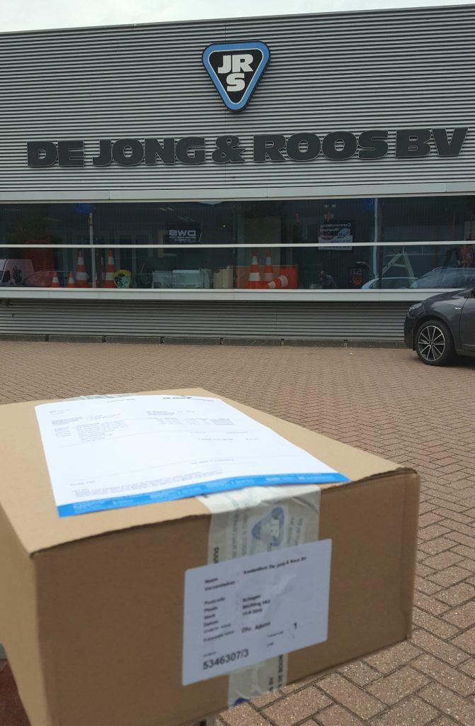 Schenking 750 slotbouten De Jong & Roos Schagen